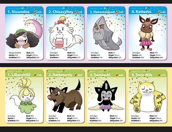 KoPémon spelkort