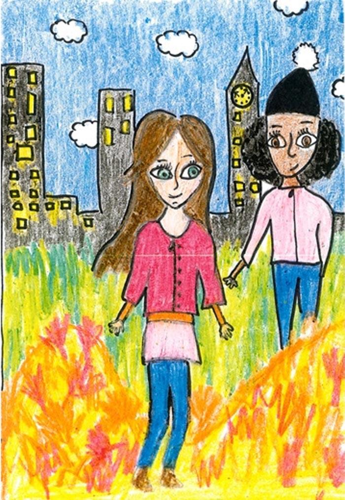 Illustration: Ellen Jilmstad, 11, Stockholm