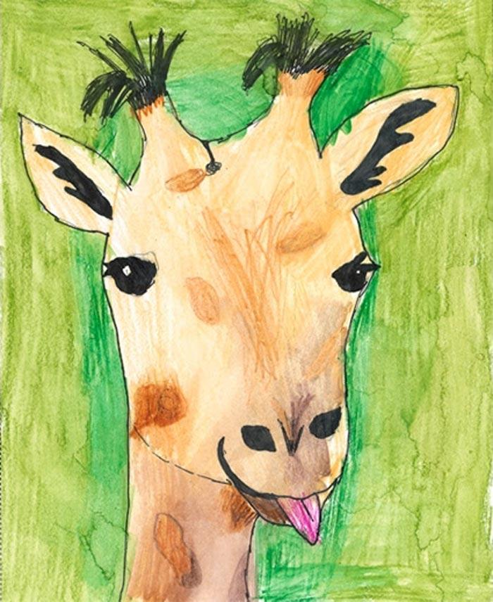 Ilustration: Elvira Sterner, 9, Göteborg