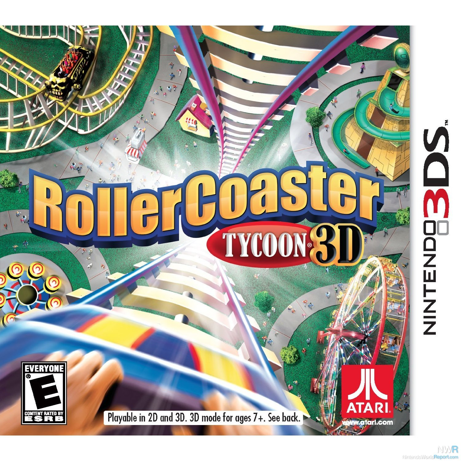 recension- Rollercoaster Tycoon
