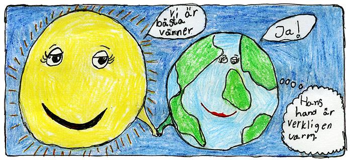 Illustration: Vinga Riedl, 10, Näshulta