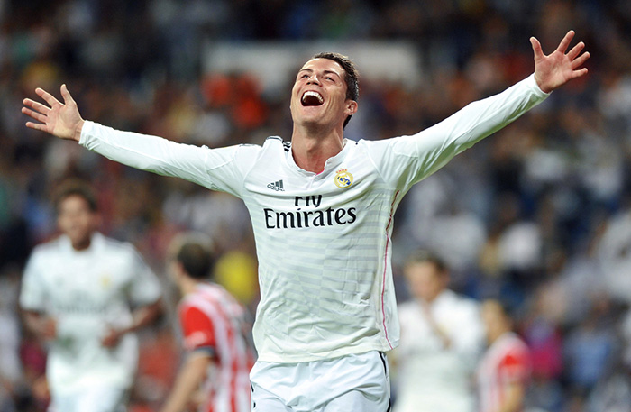 Test-Fotbolls VM_160610_Ronaldo
