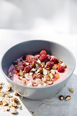 recept, mellis, hallon, yoghurt