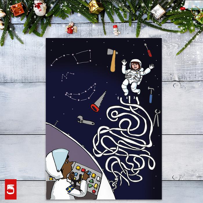 klurkalendern: Lucka 5