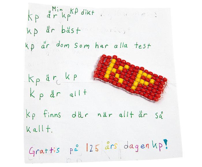 Grattishälsning från Daniel, 13.