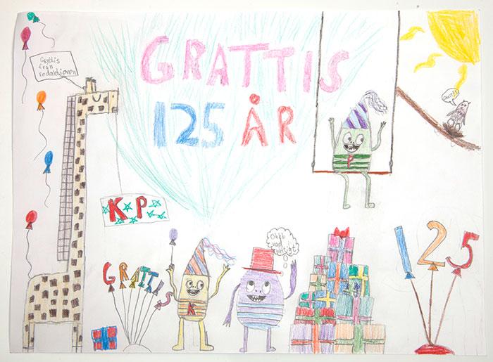 Grattishälsning från GReta, 11.