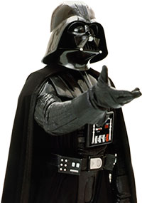 Darth Vader i Star wars