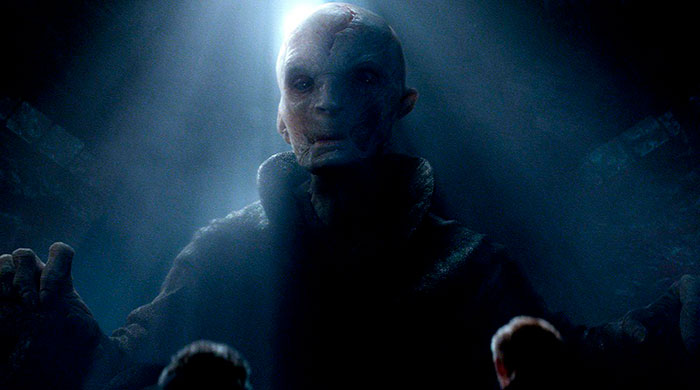 Snoke i Star wars