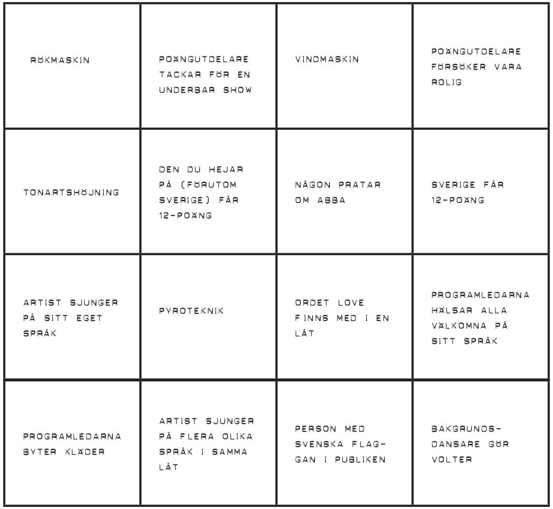 Eurovision-bingo_Bricka 2