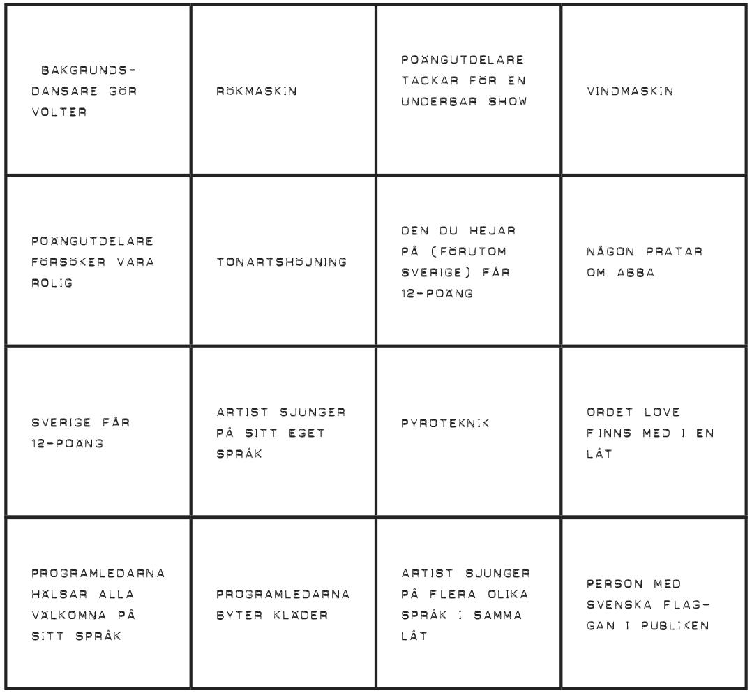 Eurovision-bingo_Bricka 3