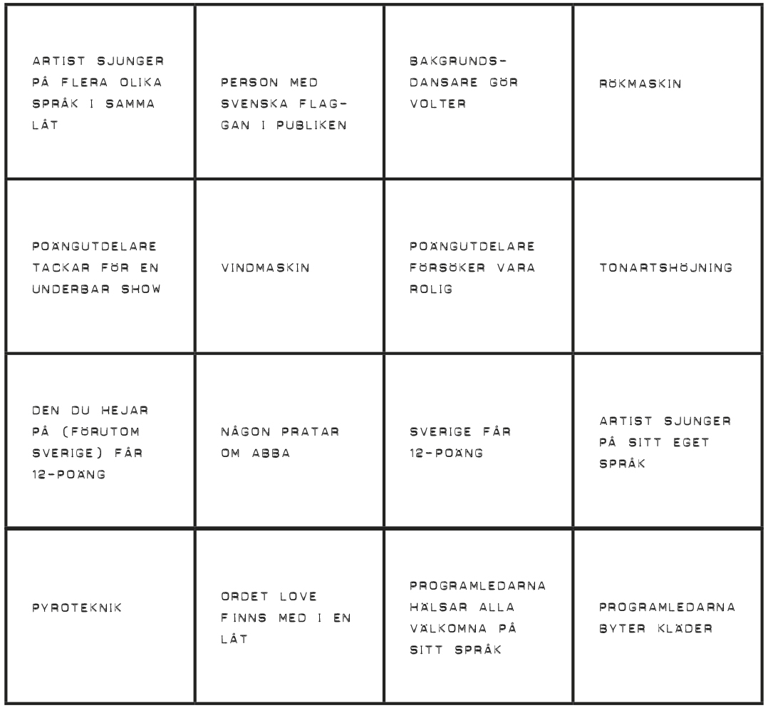 Eurovision-bingo_Bricka 5