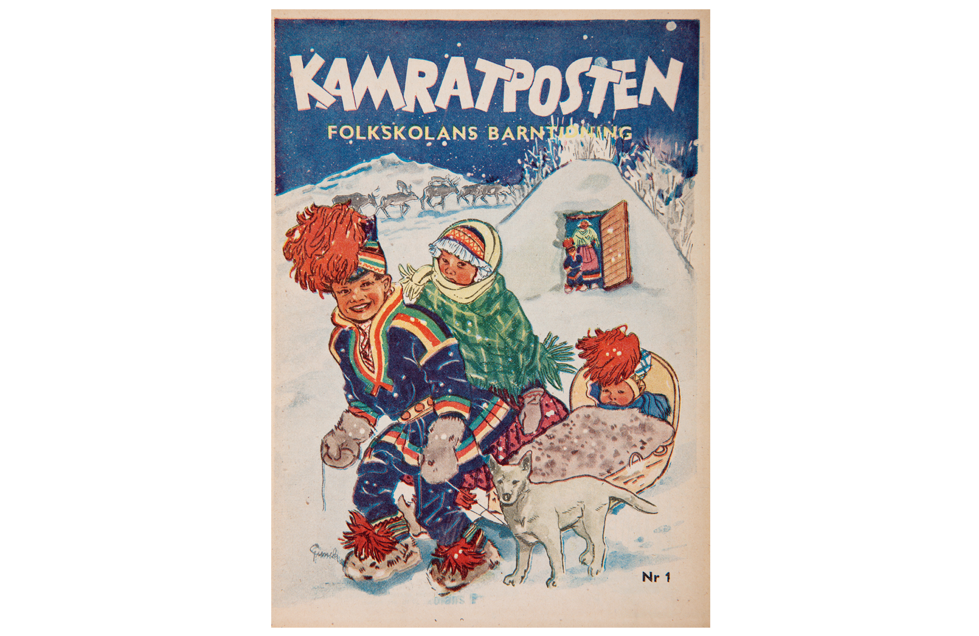 KP 1950, omslag