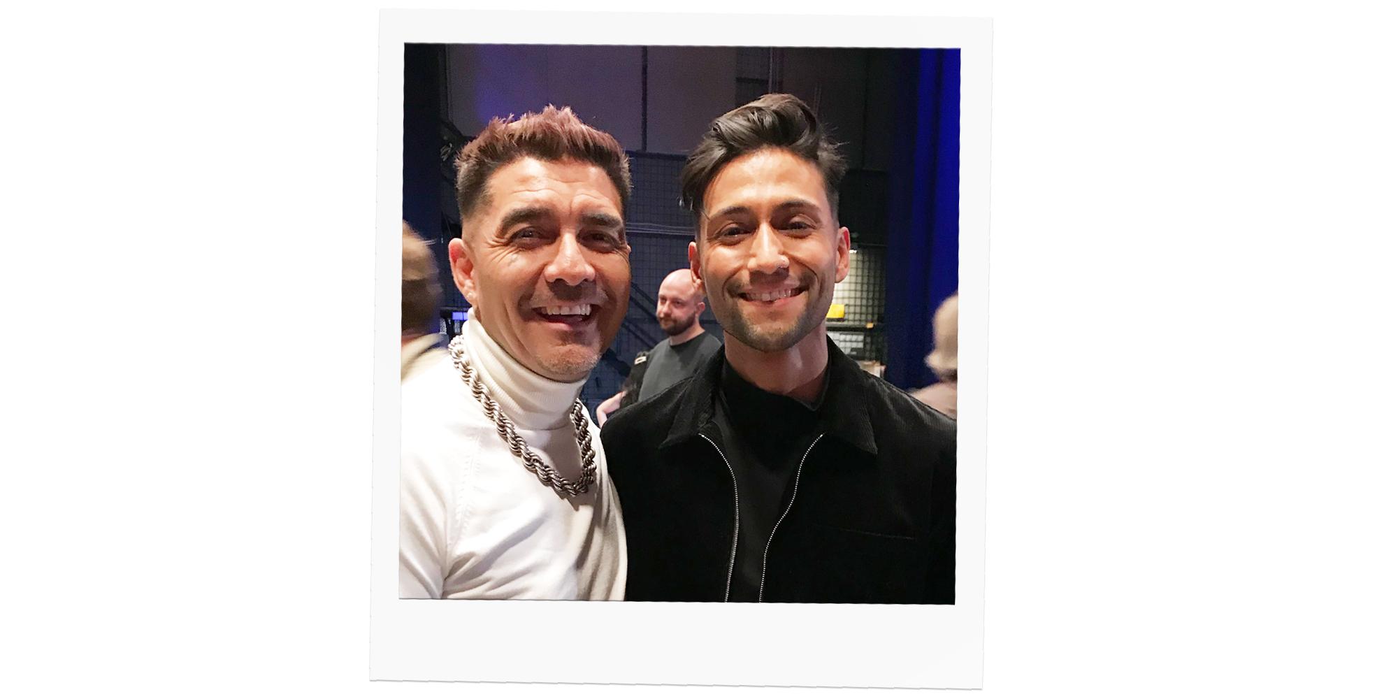 Méndez och Alvaro Estrella