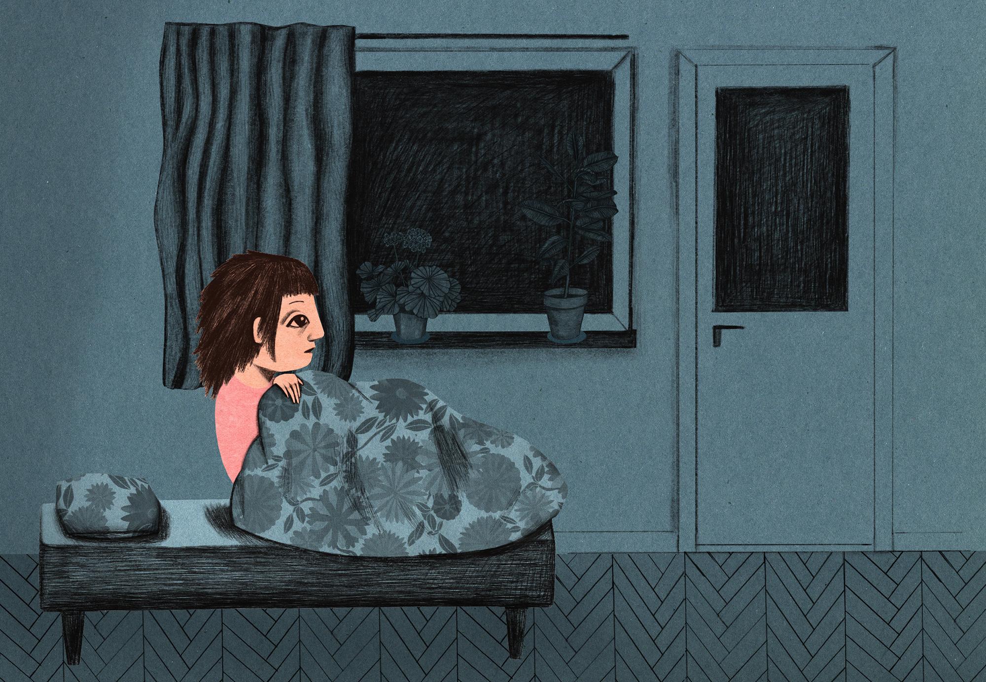 Mardrömmarna håller Sigrid vaken.